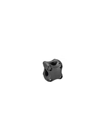 Plastic clip voor kompas zwart of licht grijs