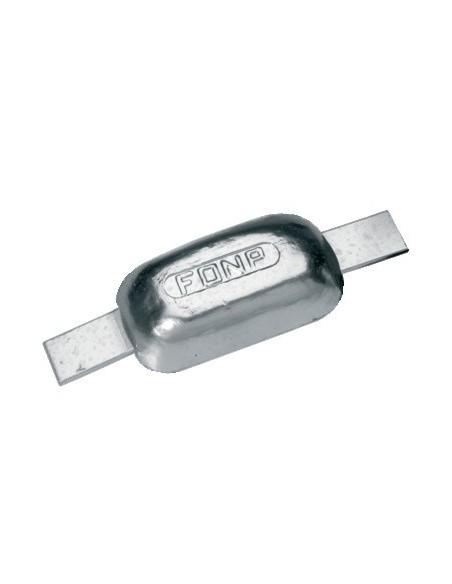 Half-eivormige anodes magnesium div. maten