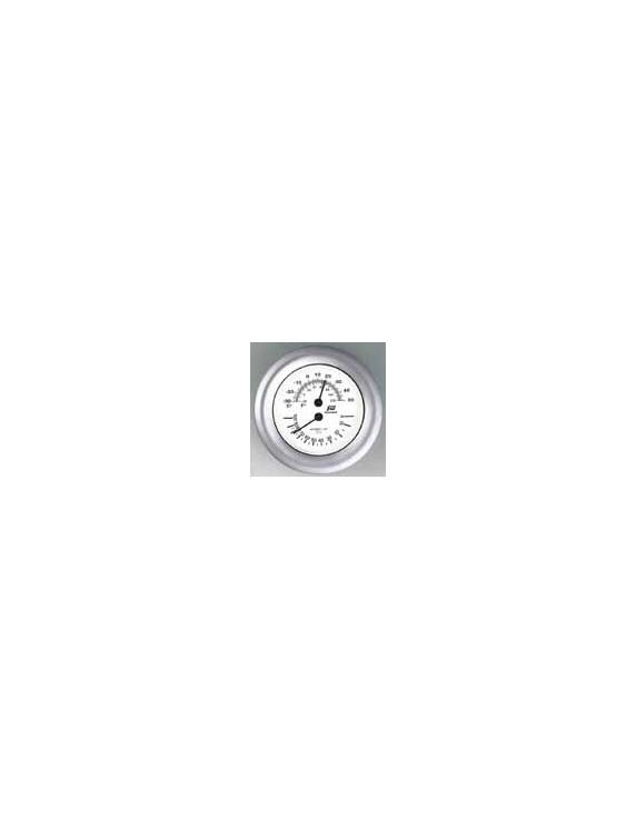 "Klok, Baro- getijdenklok of thormo hygrometer 4"" mat"