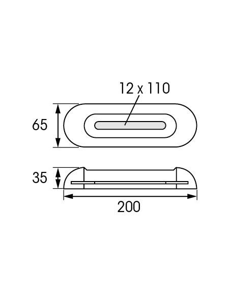 Opschroef anode verstelbaar zink 1.2 kg