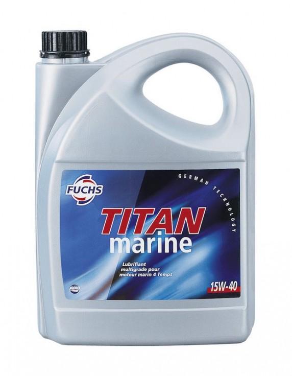 Motorolie Titan Marine 15W-40