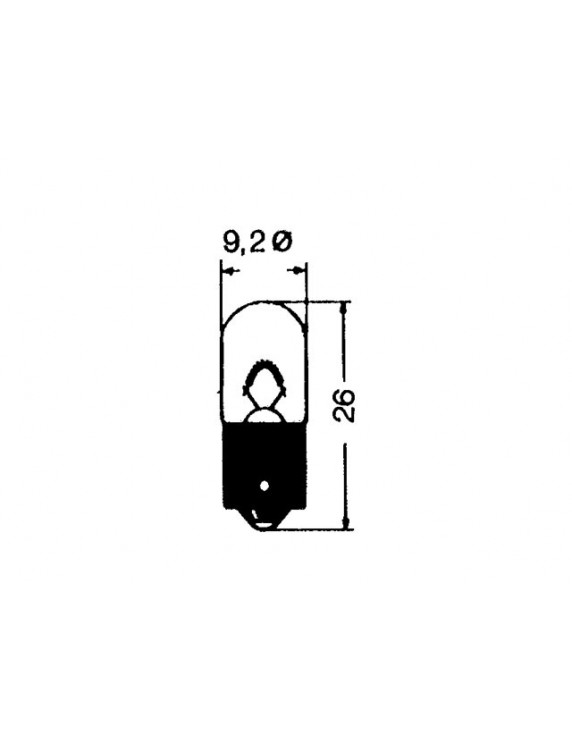 HALOGEEN LAMP 12V 5W