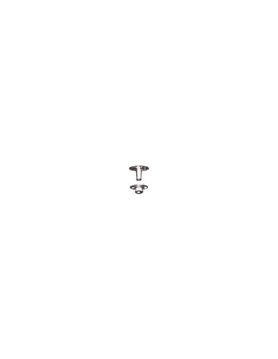 SCREW PRESS STUD YACH+TOOL(X10) 15MM
