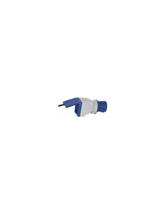 ADAPTOR 16A 2+T EC/+P17 IP44