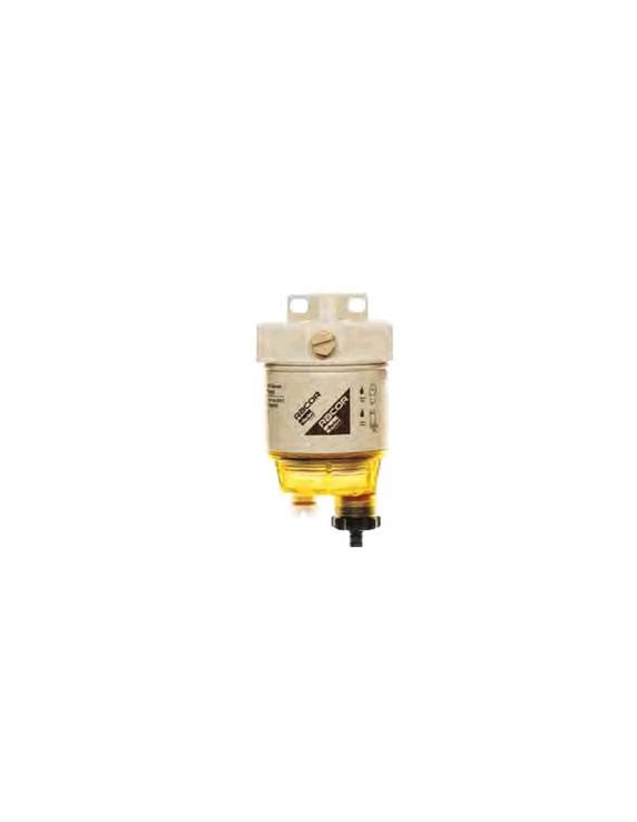 Connector voor Spin-On serie benzine/diesel 8 mm haaks
