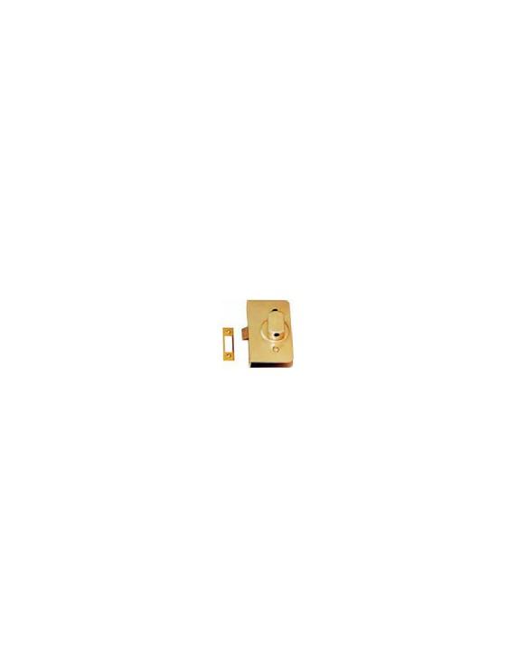 REVERSIBLE ALU SILVER LOCK 110X65