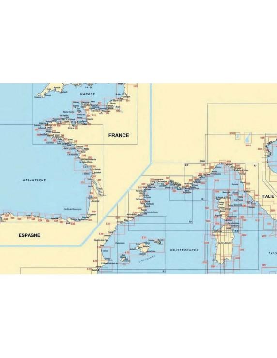 Zeekaart nr. E12 Costa Blanca - Cartagena - Carboneras