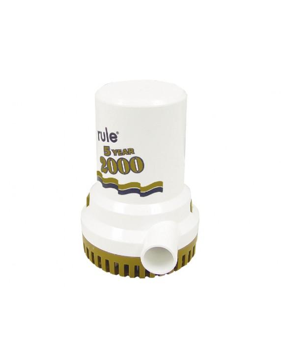 RULE 2000 12V GOLD Bilgepomp