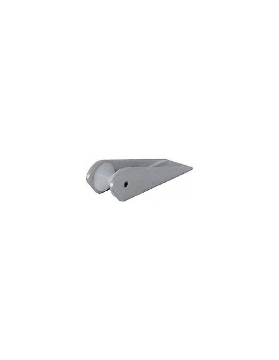 Aluminium boegroller 8 tot 12 kg 210 mm