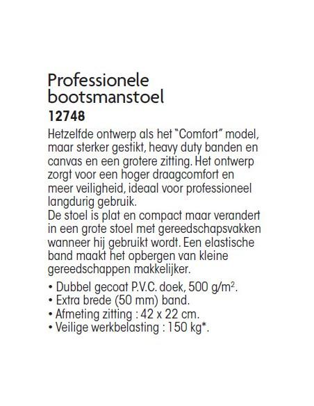 Bootsmanstoel Prof