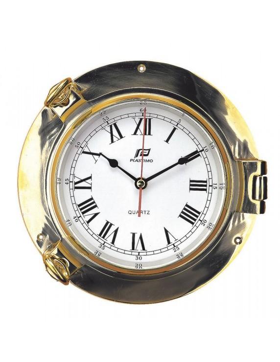 Klok of Barometer koper 6 inch