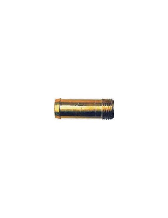 Aansluiting slang recht 1/2 inch 19mm.