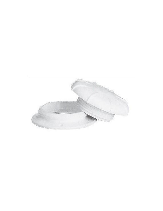 Ring en deksel voor luchthapper  75 mm