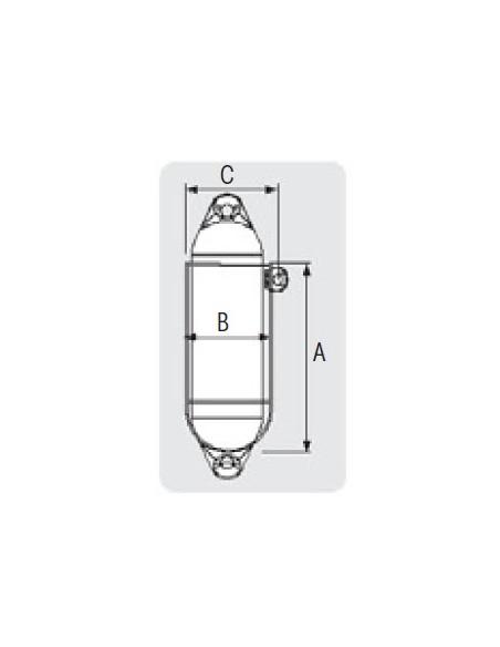 Fenderhouder voor 1-fender