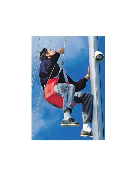 Veilig de mast in klimmen