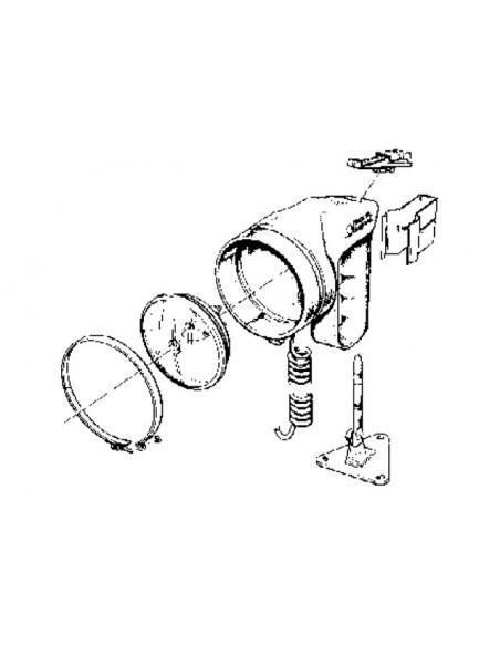 Schijnwerper onderdelen en accessoires